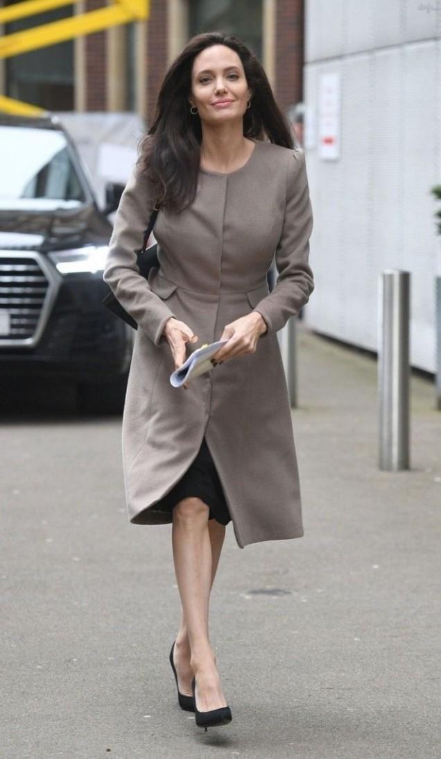 Анджелина Джоли стил