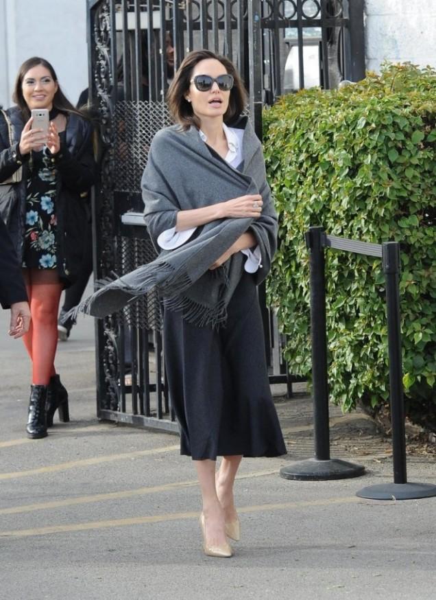 Анджелина Джоли стилна визия