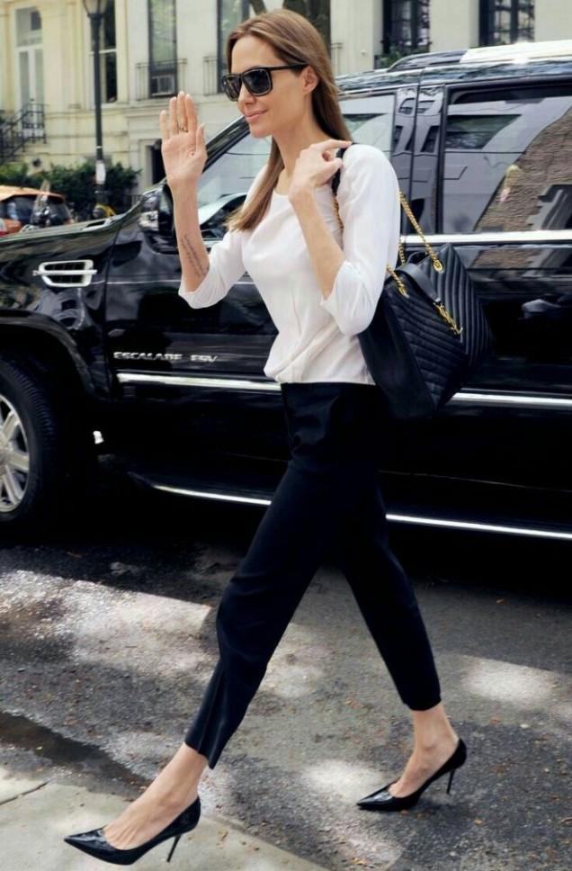 Анджелина Джоли спортен стил