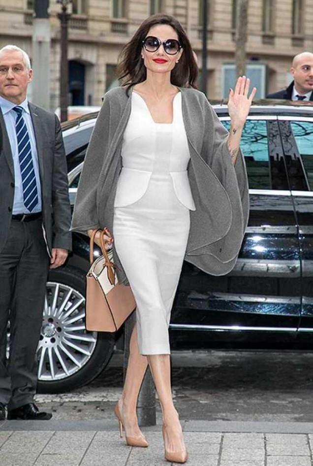 Анджелина Джоли елегантен стил