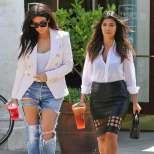 Сестра й Кортни с черна пола