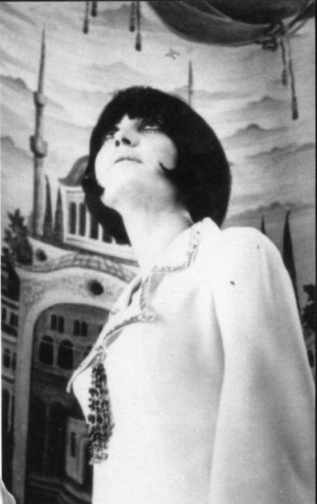Мария Данаилова като манекенка