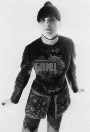 Мария Данаилова като по-млада