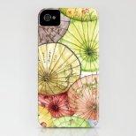 Предпазен калъф за iphone с дизайн на японски чадъри