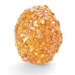 Великденско яйце украсено с натрошени черупки