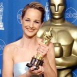 Хелън Хънт с Оскар за най-добра актриса в Колкото, толкова, Оскари 1998