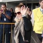 Дженифър Лопез на летището в Рио де Жанейро