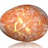 Великденско яйце с изящна рисунка