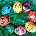 Великденски яйца с анимнационни герои