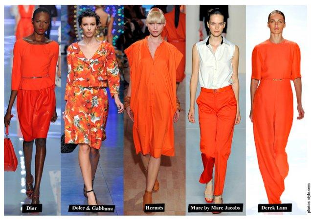 Оранжеви рокли