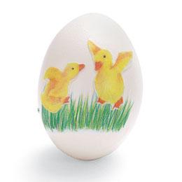 Великденско яйце с апликация патета