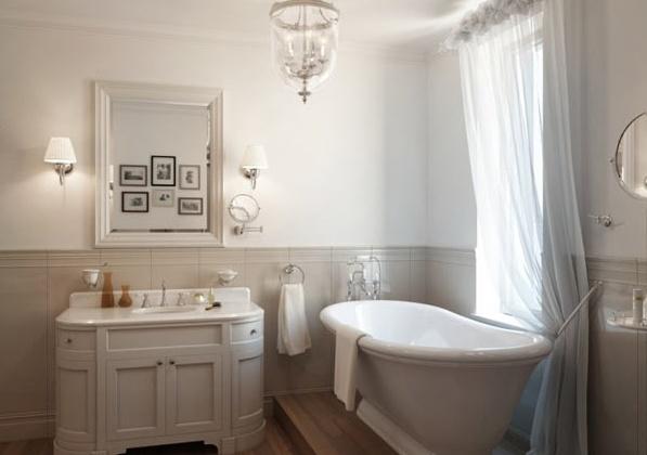 Приказен апартамент в Петербург - баня с вана