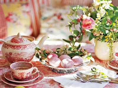 Красива маса за Великден