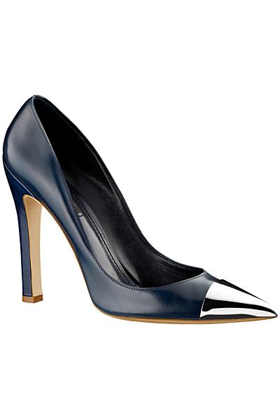 Високи остри тъмно сини обувки  Louis Vuitton Пролет-Лято 2012