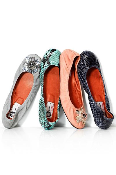 Равни обувки тип балерина Lanvin Пролет-Лато 2012