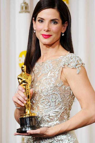 Сандра Бълок с Оскар за най-добра актриса за Сляпата страна, Оскари 2010