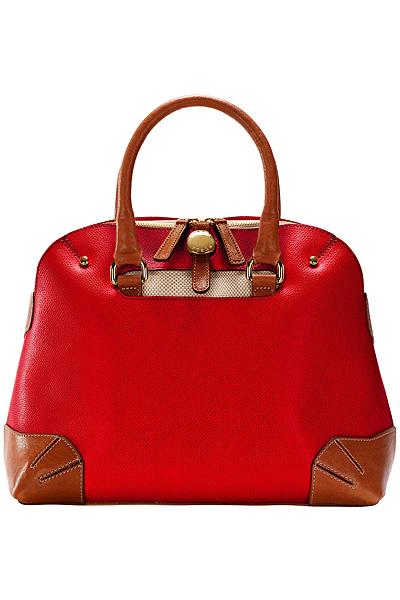 Червена чанта с къси дръжки Furla Пролет-Лято 2012