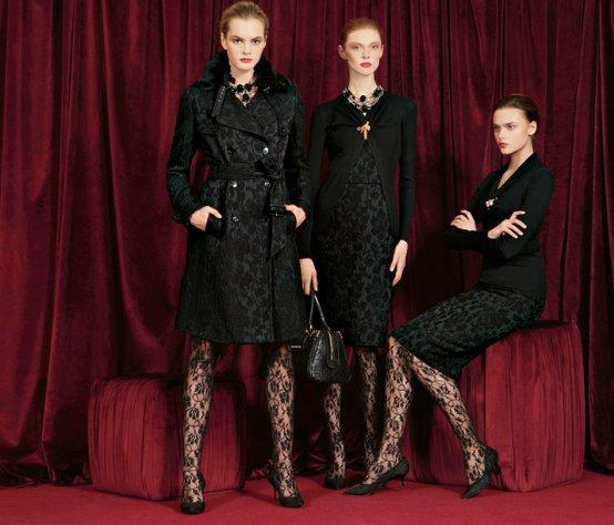 Палто и рокли в черно