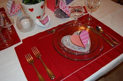 Романтична украса за Свети Валентин