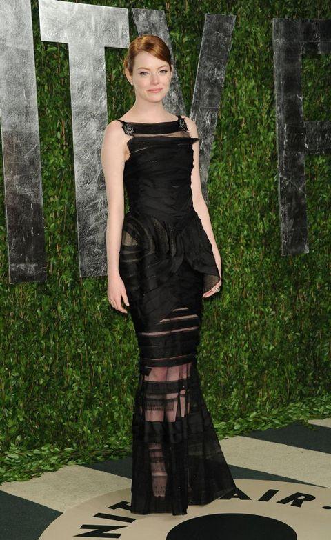 Ема Стоун на партито на Vanity fair след Оскари 2012