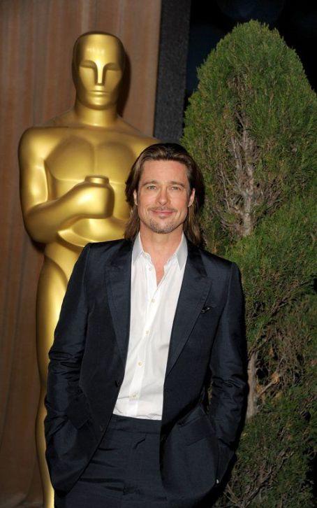 Брад Пит на Оскари 2012