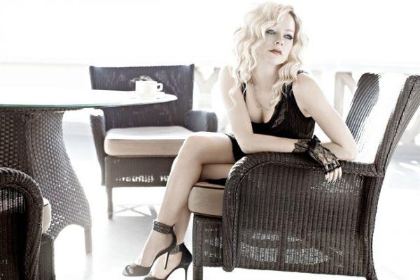 Аврил Лавин за сп. Vogue Италия