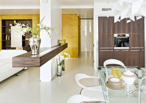 модерен апартамент в Москва