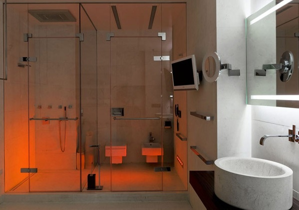 модерен апартамент в Русия - баня