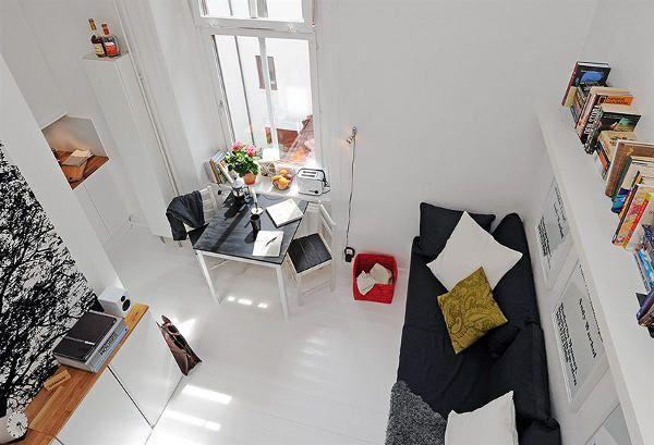 Интериор за малък апартамент 1