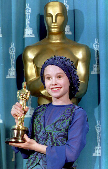 Ана Пекуин с Оскар за поддържаща женска роля в Пианото, Оскари 1994