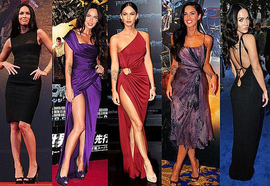 Меган Фокс определено има вкус към вечерните рокли