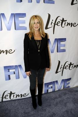 Дженифър Анистън като водеща на събитие по повод филма