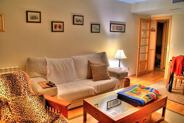 Уютен интериор за малък хол