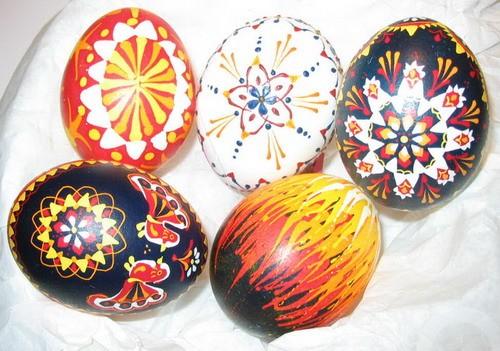 Сръбски великденски яйца