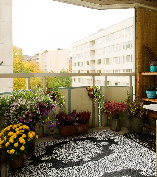 Декор за тераса на апартамент