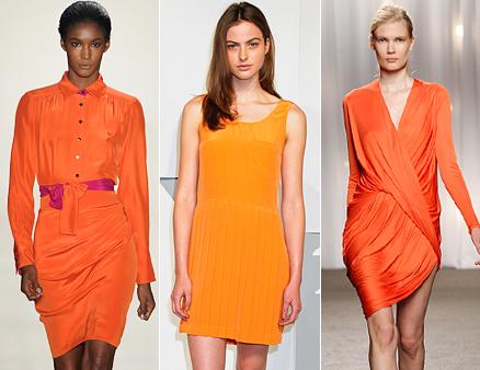 Рокли в оранжево