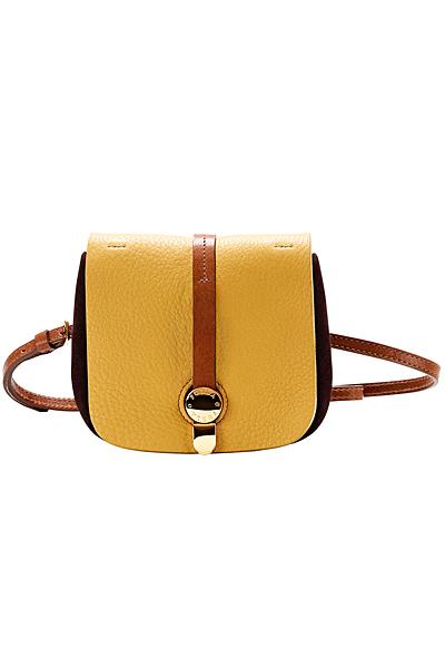 Малка жълта чанта тип пощальон Furla Пролет-Лято 2012