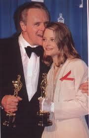 Джоди Фостър с Оскар за най-добра актриса в Мълчанието на агнетата, Оскари 1992