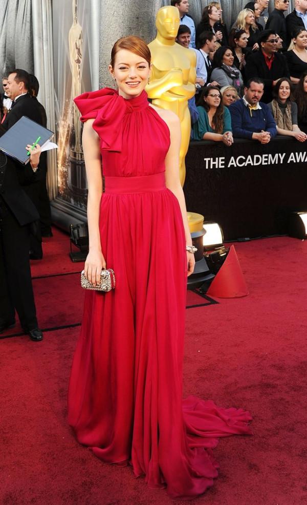 Ема Стоун на Оскари 2012