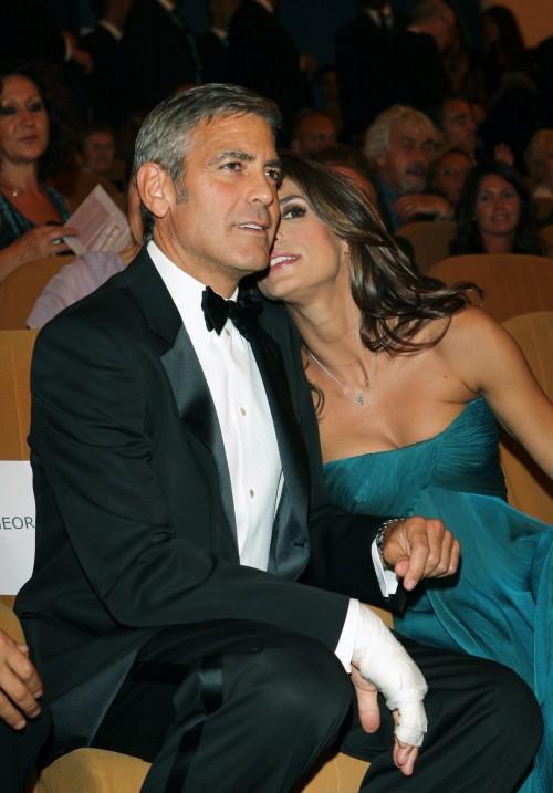 Елизабета Каналис и Джордж Клуни