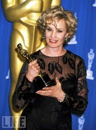 Джесика Ланг с Оскар за най-добра актриса в Синьо небе, Оскари 1995