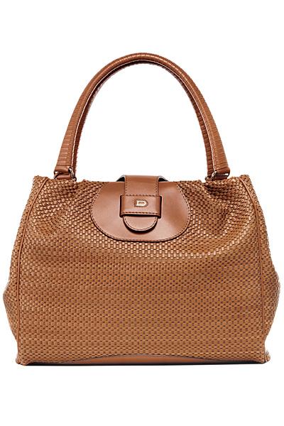 Голяма бежова чанта Delvaux пролет-лято 2012