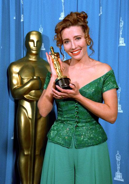 Ема Томпсън с Оскар за най-добра Актриса в Имението Хауърдс Енд, Оскари 1993