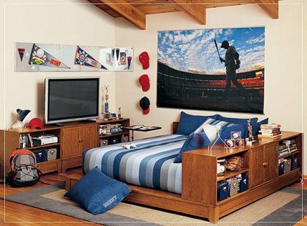 Детска стая за момче с мултифункционално легло