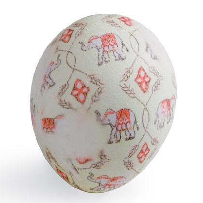 Великденско яйце с принт