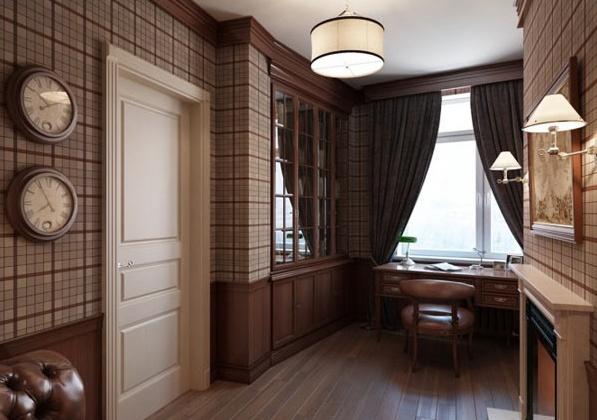 Приказен апартамент в Санкт Петербург - кабинет