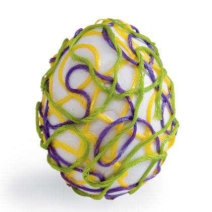 Великденско яйце в мрежичка
