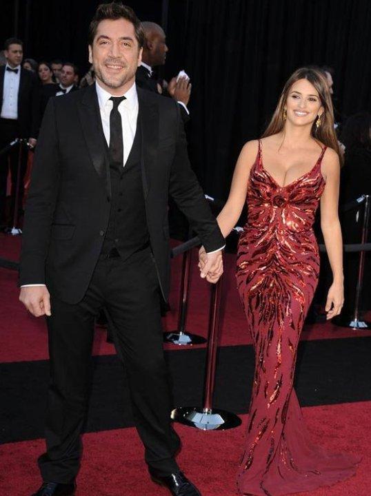 Пенелопе Круз със съпруга си актьора Хавиер Бардем