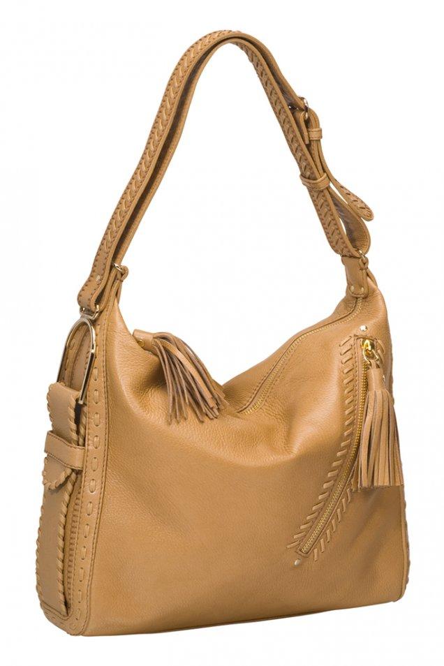 Бежова чанта с пискюли Jimmy Choo Зима 2011/2012