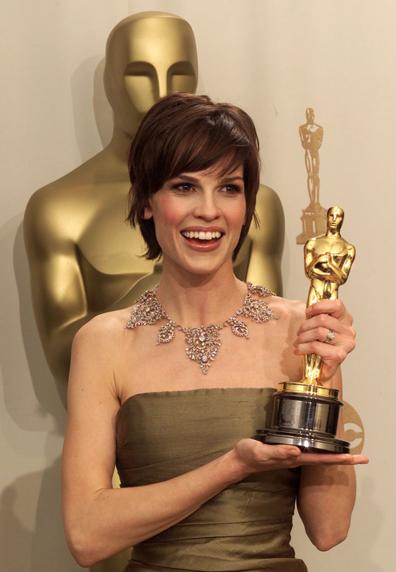 Хилъри Суонк с Оскар за най-добра актриса в Момчетата не плачат, Оскари 2000